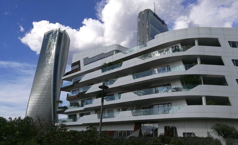 Le due torri e le residenze Zaha Hadid