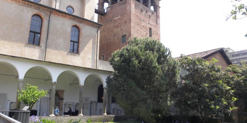 Il Civico Museo Archeologico con una delle antichità romane: la torre del circo