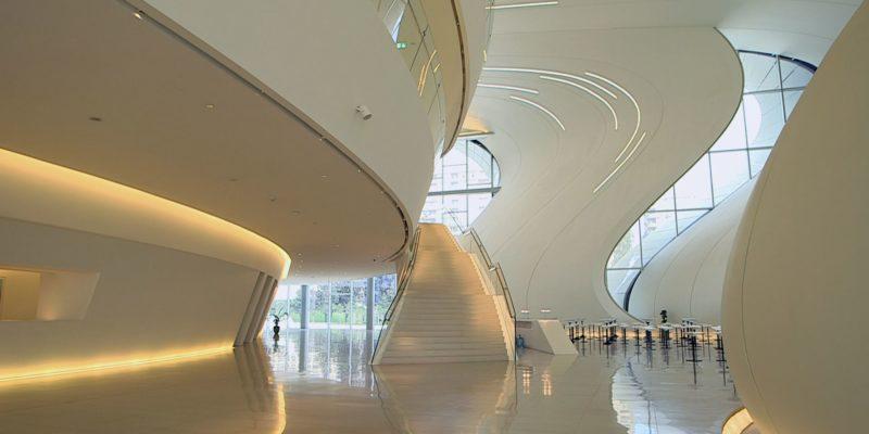 Zaha Hadid. An architect. A masterpiece