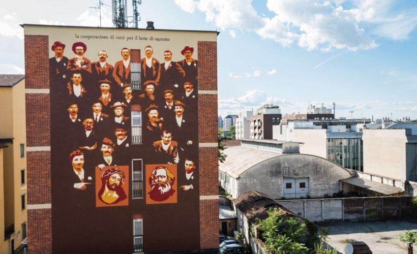 Ortica - Murales raccontano la storia del quartiere